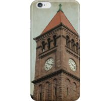The Clock Tower iPhone Case/Skin