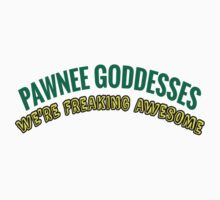 Leslie Knope Pawnee Goddesses Badge One Piece - Short Sleeve