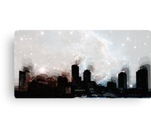 Boston skyline Canvas Print