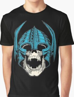 skull with helmet Graphic T-Shirt