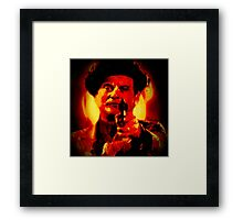 Blood Red #2 Framed Print