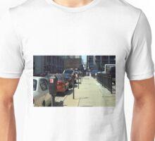 Chicago Sunny Street Scene Unisex T-Shirt