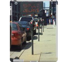 Chicago Sunny Street Scene iPad Case/Skin