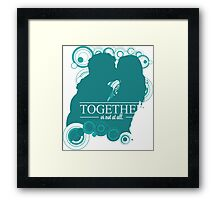 The Ponds - Together or Not At All Framed Print