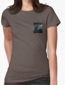 dark gothic cat Womens Fitted T-Shirt