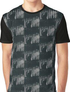 dark gothic cat Graphic T-Shirt