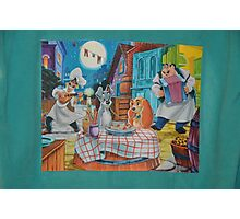 Lady Tramp Dinner Photographic Print