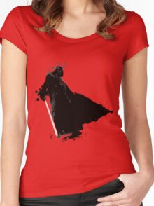 DARTH VADER. Women's Fitted Scoop T-Shirt
