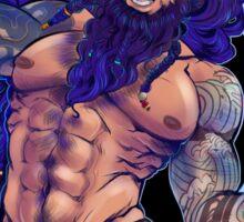 God of the Seven seas Sticker