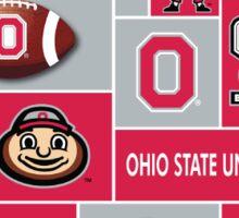 Ohio State Pattern Ohio Sticker