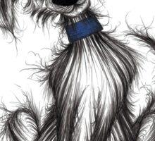 Billy the dog Sticker