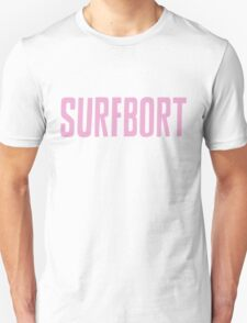 Pastel Pink Surfbort Beyonce Design Unisex T-Shirt