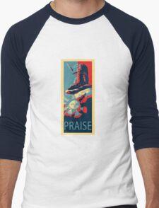 Knight Solaire Obama poster Men's Baseball ¾ T-Shirt
