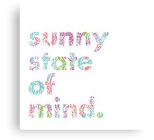 Lilly Pulitzer Sunny State of Mind Canvas Print