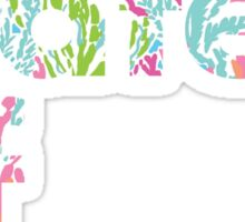 Lilly Pulitzer Sunny State of Mind Sticker