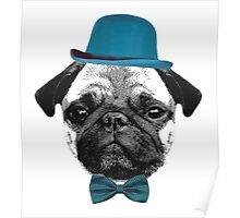 Mops Puppy French Bulldog Poster