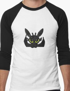 How To Train Your Dragon, Toothless cute pocket Men's Baseball ¾ T-Shirt