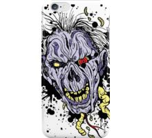 Zombie painting iPhone Case/Skin