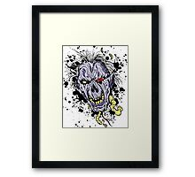 Zombie painting Framed Print