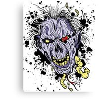 Zombie painting Canvas Print