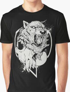Inktober Wolf  Graphic T-Shirt