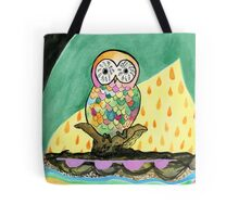 The Jeweled Gumball Owl Tote Bag