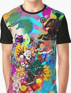 Black Asiatic Graphic T-Shirt