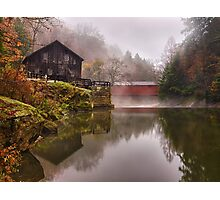 Morning At the Mill - McConnell's Mill, PA Photographic Print