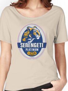 SERENGETI PLATINUM TANZANIA LAGER BEER Women's Relaxed Fit T-Shirt