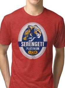 SERENGETI PLATINUM TANZANIA LAGER BEER Tri-blend T-Shirt