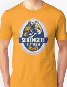 SERENGETI PLATINUM TANZANIA LAGER BEER Unisex T-Shirt