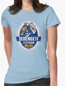 SERENGETI PLATINUM TANZANIA LAGER BEER Womens Fitted T-Shirt