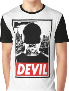 DAREDEVIL - Obey Design Graphic T-Shirt