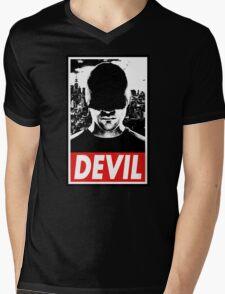 DAREDEVIL - Obey Design Mens V-Neck T-Shirt