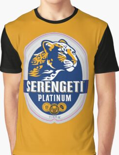 SERENGETI PLATINUM TANZANIA LAGER BEER Graphic T-Shirt