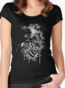 Hyena  Women's Fitted Scoop T-Shirt
