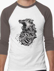 Hyena  Men's Baseball ¾ T-Shirt