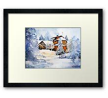 akwarelka 93 Framed Print