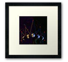 Moon Crown Framed Print