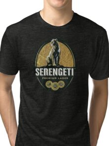 SERENGETI LAGER BEER OF TANZANIA Tri-blend T-Shirt