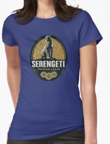 SERENGETI LAGER BEER OF TANZANIA Womens Fitted T-Shirt