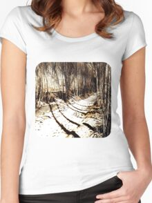 Ditch  Women's Fitted Scoop T-Shirt