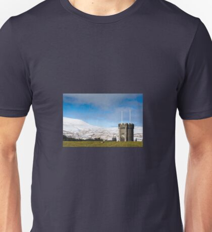 Beacons Reservoir Tower, Brecon Beacons, Wales UK Unisex T-Shirt
