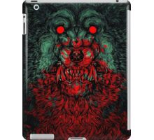 Werewolf shape iPad Case/Skin
