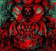 Werewolf shape Sticker