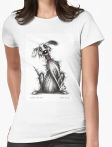 Biscuit the dog Womens Fitted T-Shirt
