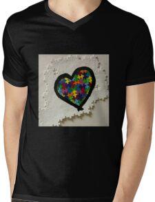 Autism love Mens V-Neck T-Shirt