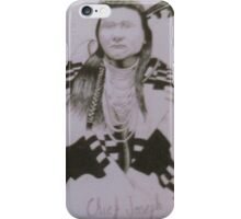 Chief Joseph iPhone Case/Skin