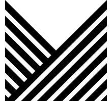 Black Stripes Photographic Print