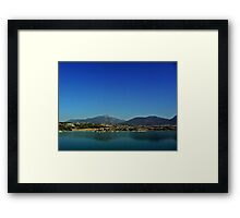 Fine Art Photograph Turkish Landscape Denizli  Framed Print